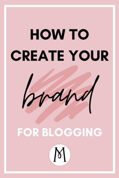brand for blogging