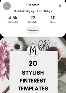 pinterest pins stylish templates