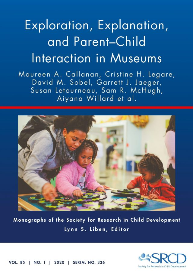 Cover of the Volume 85 Issue 1 of the scholarly journal, Monographs of the Society for Research in Child Development
