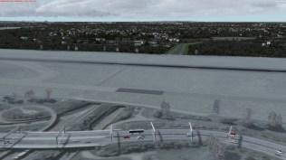 Dieser Unterführung würde es gut stehen, wenn sie tatsächlich unter der Landebahn 15-33 hindurchführen würde.