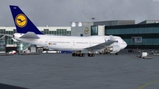 Die Lufthansa Maschinen sind schon sehr detailliert gearbeitet. Diese 747-400 gehört definitiv dazu.
