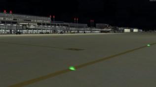 Sicher ein Update wert: Irgendetwas ist bei der Implementierung der Rollweglampen schief gegangen.