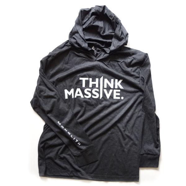 FRONT triblend hoodie