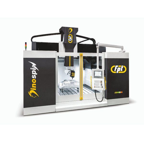 Вертикально фрезерный станок FPT DINO SPIN – 5-осевой фрезерный станок с подвижной балкой портального типа для высокоскоростной обработки