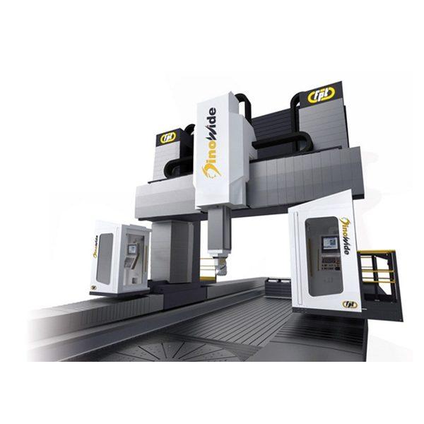 Вертикально фрезерный станок FPT Dinowide– 5-осевой фрезерный станок с подвижной балкой портального типа для высокоскоростной обработки