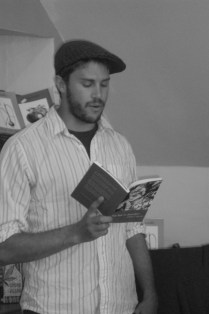 """Jeffrey F. Barken reading from """"This Year in Jerusalem"""" at the Book Stop Cafe, Kenmare Ireland June 12th 2013"""
