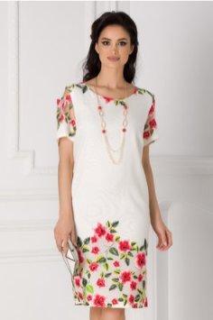 rochie-alba-cu-manecile-decupate-si-imprimeu-floral-297909-1