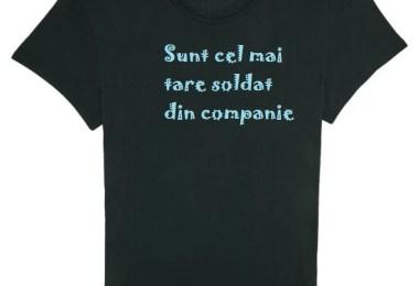 tricou - Companie, stai! Pe loc repaus cu cadourile promoționale nașpa!
