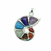 94 stonemania pandantiv pietre semipretioase melc spirala 7 chakre1906634750 2 - Pariez pe cristale