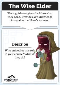 Monomyth - The Wise Elder Card
