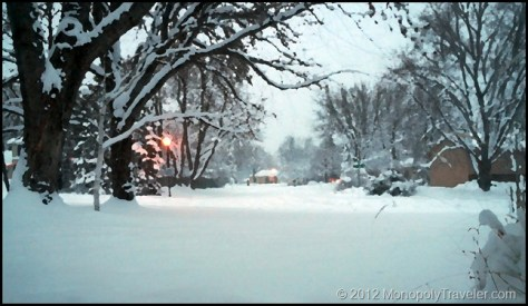 A Wintery Christmas Eve