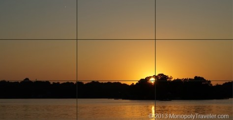 Setting Sun on Grid