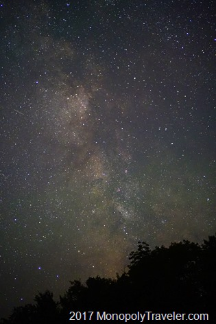 Milkyway in Porcupine State Park
