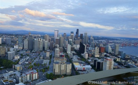 Seattle From the Observation Deck