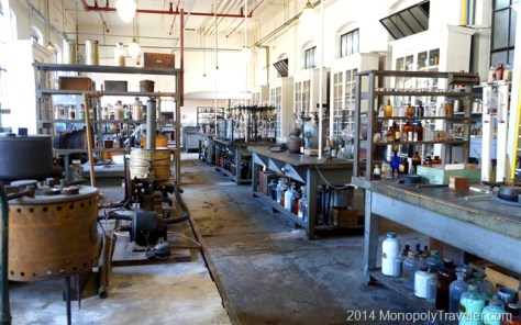 Inside the Chemical Lab