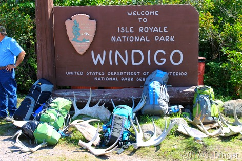 One of the Entrance Stations of Isle Royale