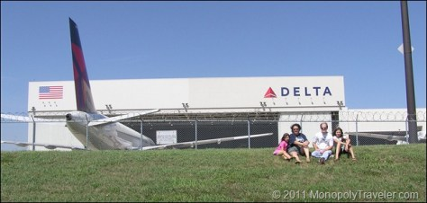 Visiting Delta Airlines