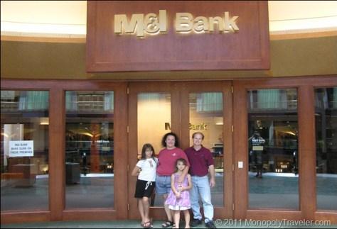 National City Bank now M & I  Bank