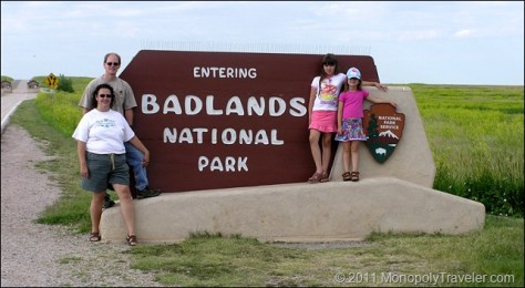 Badlands Entrance