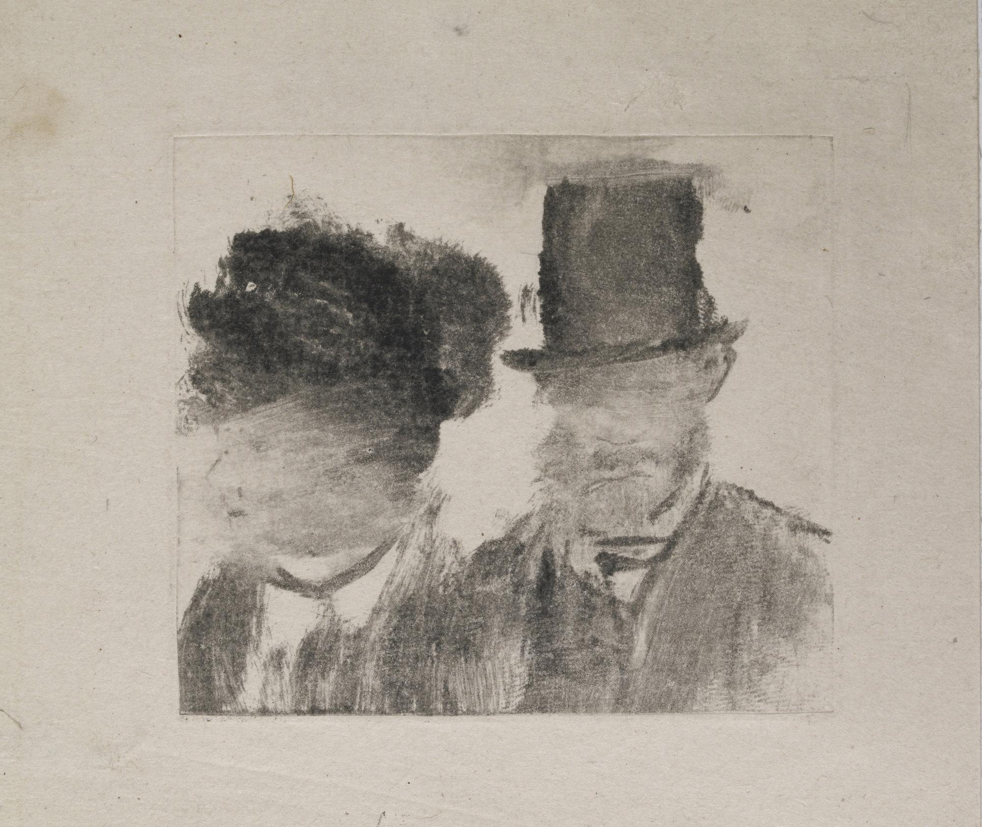 Jasper Johns And Edgar Degas Monotypes Monoprint Monotype