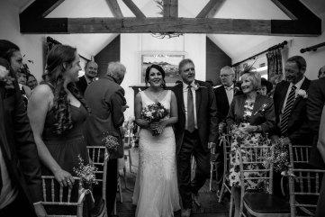 Cock O'Barton wedding