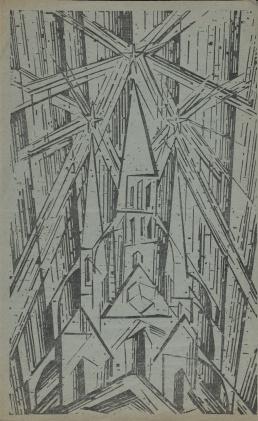 Poster Catalogue Of The Exhibition Maler Am Bauhaus 1950