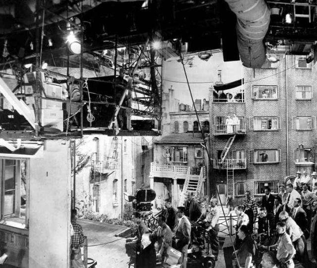 Behind The Scenes Rear Window 1954 88