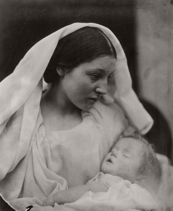 Resting in Hope; La Madonna Riposata, 1864 Júlia Margaret cameron - Fotografia é arte?