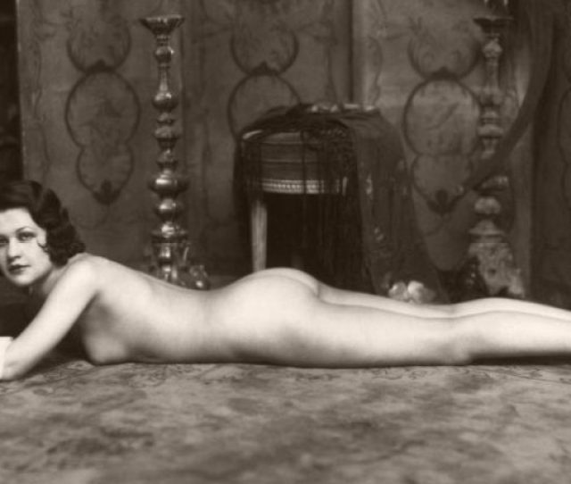 Vintage Early 20th Century Bw Nudes