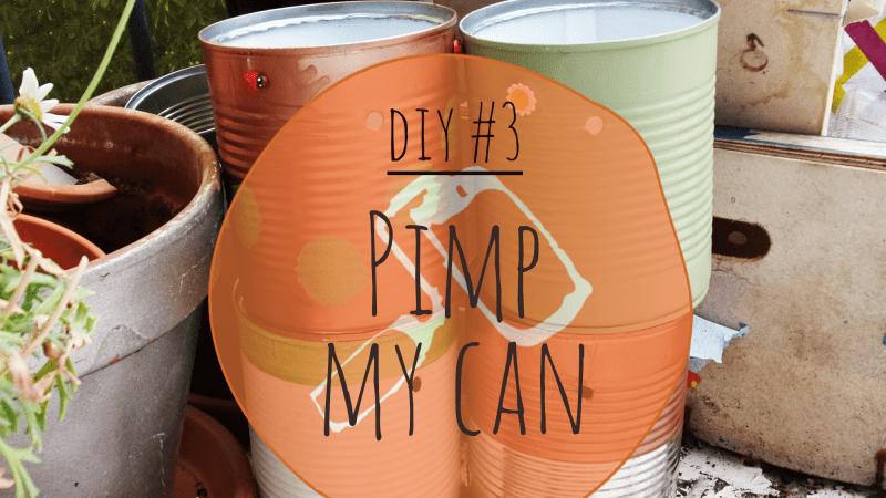 DIY #3 – Pimp my can