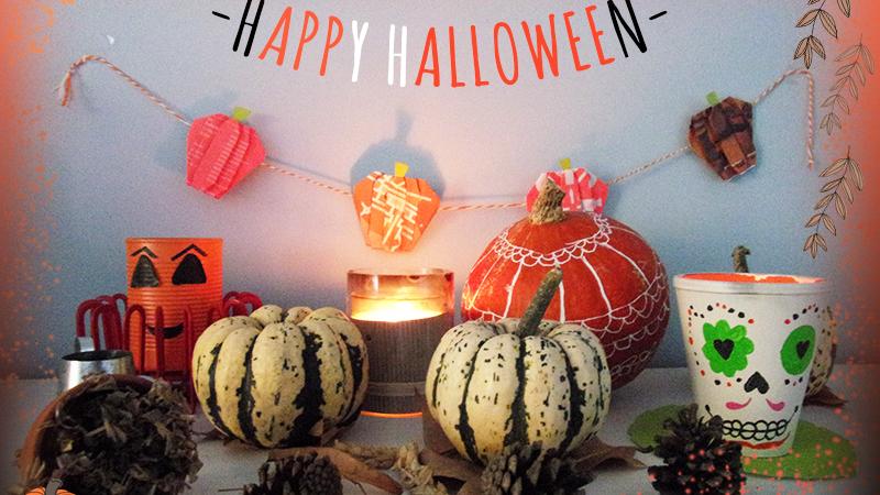DIY : décoration Halloween naturelle et minimaliste