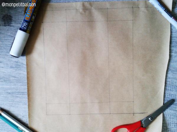 calendrier de l'avent 2015 par mon petit balcon jour 13 - réaliser des sachets de graines en papier kraft