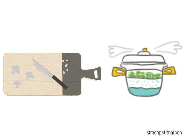 recette illustrée antigaspi d'hiver : cannellonis au verts de poireaux