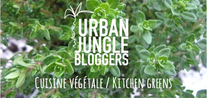 Ma cuisine végétale – le défi d'Urban Jungle Bloggers « Kitchen greens »