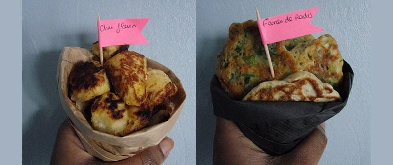Beignet de chou fleur au four (recette végétarienne)