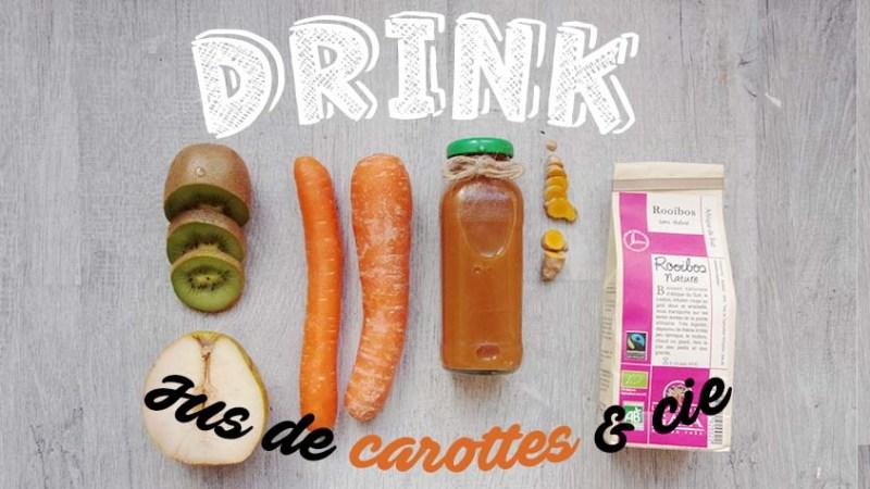 Recette jus de carotte maison et bienfaits