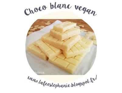 Spécial pâques : recettes végétales et déco minimaliste - chocolat blanc vegan