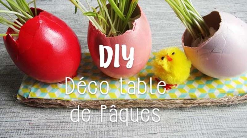 DIY déco table de Pâques, c'est dans le sac