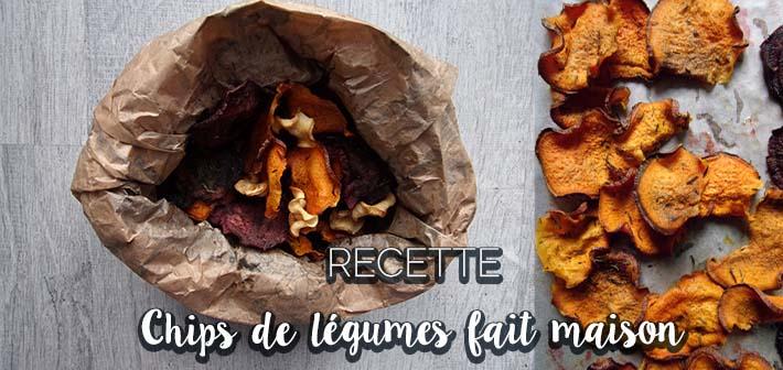 Chips aux légumes fait-maison recette zéro déchet
