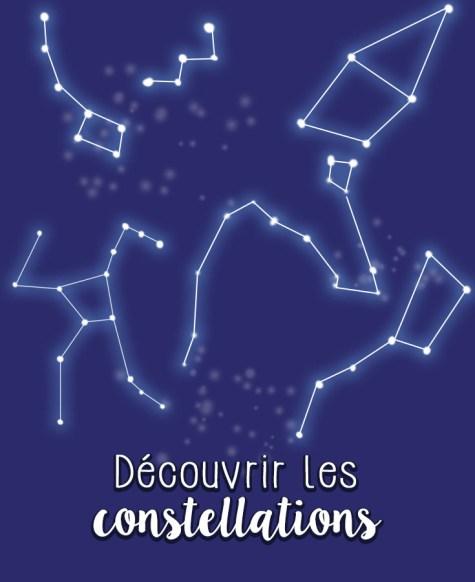 Constellation dessinées Nuit des étoiles 2016