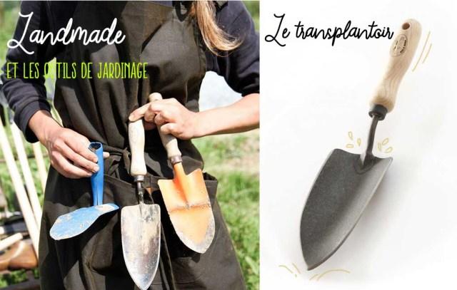 Landmade mobilier durable - outils de jardinage dewit fabriqués au pays-bas, transplantoir
