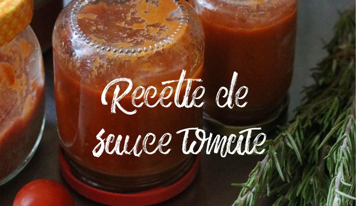 Recette de sauce tomate aux oignons caramélisés et aux herbes pour faire ses conserves de sauce maison