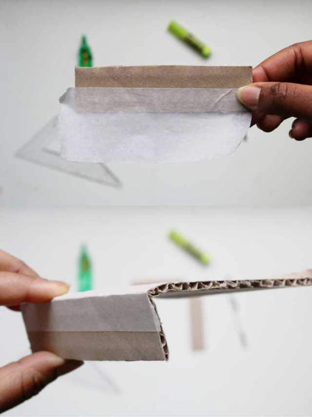 DIY cabinet de curiosités avec des papiers en papier pas à pas   Mon petit balcon