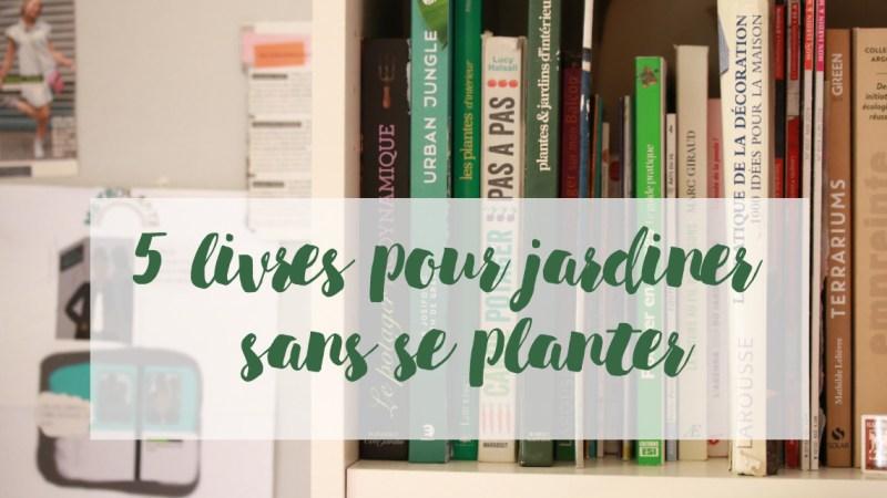 5 livres pour créer un potager de balcon et jardiner en appartement