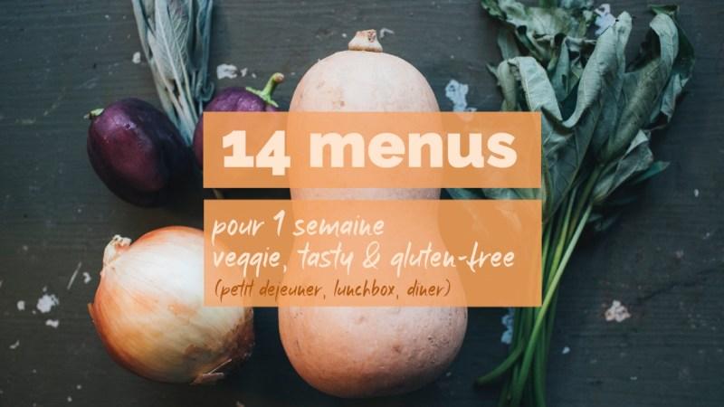 Batchcooking : 14 repas pour une semaine végétarienne