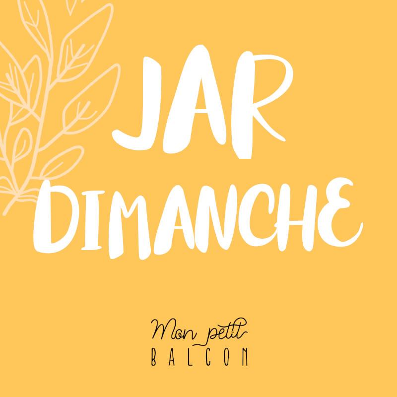 illustration logo podcast jardinage, jardimanche par Mon petit balcon