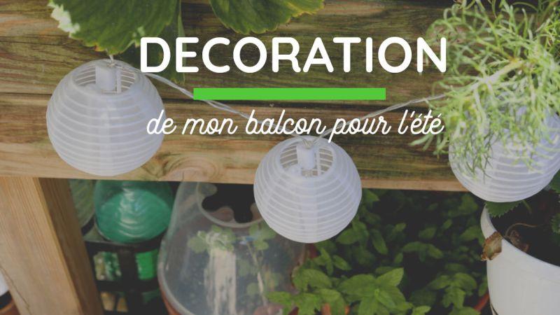 Avant|Après : mon salon de jardin au balcon