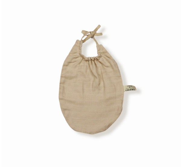 James bavoir beige coton bio bébé enfant newborn made in france organic cotton – Lebôme
