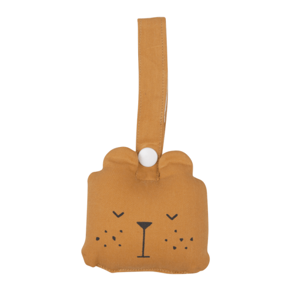 Animal Rattle Bear ochre
