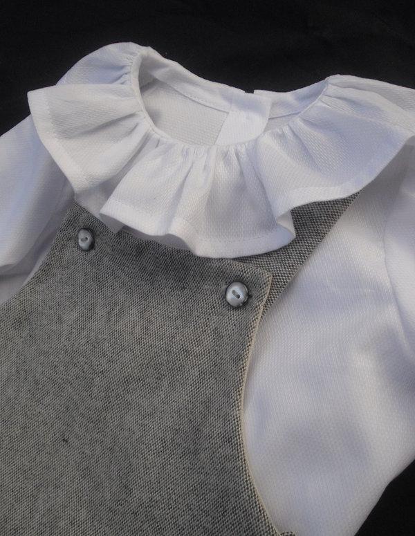 Barboteuse Prélude et blouse Berceuse Mon Petit Vestiaire